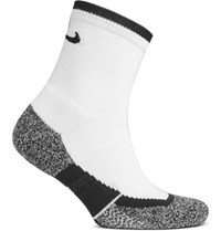 Nike Tennis Eite Crew Dri Fit Socks White