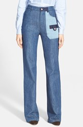 Women's See By Chloe Patchwork Jeans