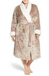 Nordstrom Plus Size Women's Lingerie Frosted Plush Robe