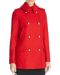 Michael Michael Kors Military Peacoat 100 Bloomingdale's Exclusive Red