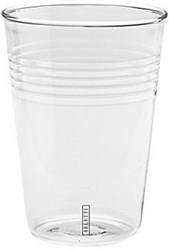 Seletti Si Glass Glass Cup Set Of 6