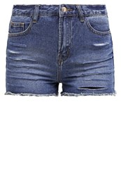 New Look Denim Shorts Mid Blue