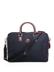 Dunhill Guardsman Double Document Case Navy