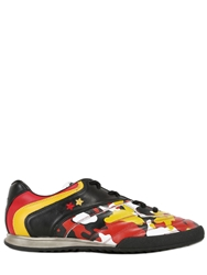 Pantofola D'oro Germany World Cup Leather Sneakers Black Multi