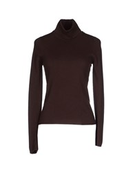 Ballantyne Knitwear Turtlenecks Women Dark Brown