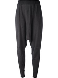 Rundholz Drop Crotch Tapered Trousers Grey