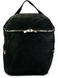 Guidi Top Handle Backpack Black