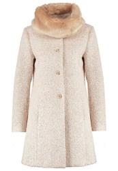 More And More Short Coat Milky Rose