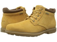 Rockport Rugged Bucks Waterproof Boot Tan Suede Men's Boots