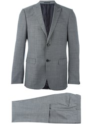 Z Zegna Flap Pockets Suit Black