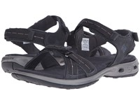 Columbia Kyra Vent Ii Shark Light Grey Women's Sandals Black
