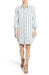 Women's 7 For All Mankind Stripe Shirtdress