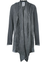 Lost And Found Rooms Draped Cardigan Grey