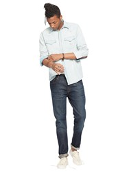 Denim And Supply Ralph Lauren Tapered Straight Jeans Blue