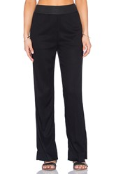 James Perse Elastic Waist Pant Black
