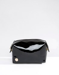 Mi Pac Make Up Bag In Black Patent Black