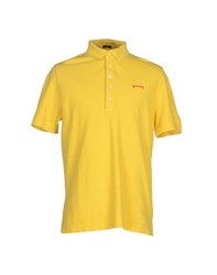 Pirelli Pzero Topwear Polo Shirts Men Yellow