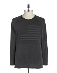 William Rast Graphic Long Sleeved Tee