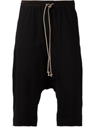 Lost And Found Rooms Dropped Crotch Shorts Black