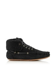 Jerome Dreyfuss Cheyenne Moccasin Ankle Boot Black