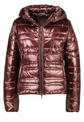 Boss Orange Otarra Light Jacket Burgundy Bronze