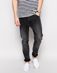 Weekday Jeans Friday Skinny Fit Black Coal Blackcoal