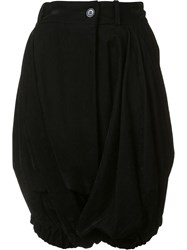 Vivienne Westwood Red Label Pleated Balloon Shorts Black
