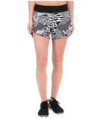 Endurance Woven Shorts Lucy White Lucy Black Hybrid Geo Print Women's Shorts