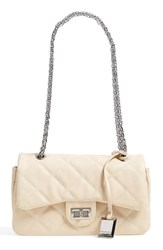Catherine Catherine Malandrino 'London' Chain Shoulder Bag Beige