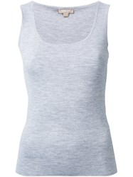 Michael Kors Scoop Neck Tank Top Grey