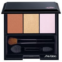 Shiseido Luminizing Satin Eyeshadow Trio Palette Woods