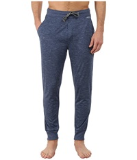 Jockey Poly Jersey Varigated Knit Sleep Pants Heather Blue Men's Pajama