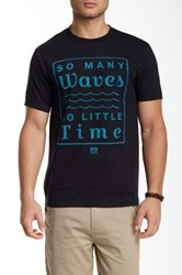 Reef More Over Less Tee Black