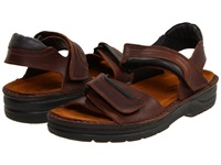 Naot Footwear Lappland Buffalo Leather Men's Sandals Brown