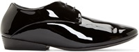 Marsell Black Patent Leather Oxford Shoes