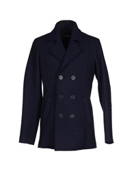 Byblos Coats Dark Blue