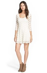 Billabong 'Sweet Fix' Romper White Cap
