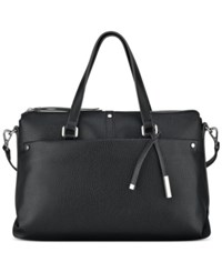 Nine West Pockets A Plenty Medium Satchel Black