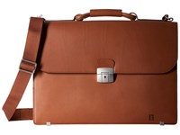 Hartmann Heritage Flap Brief Golden Oak Briefcase Bags Orange