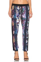 Clover Canyon Floral Filter Pant Purple