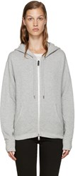 Rag And Bone Grey X Boyfriend Hoodie