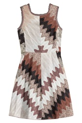 Missoni Dress With Lace Up Back Multicolor