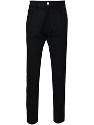 Raf Simons Tapered Jeans Black