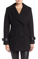 Trina Turk Women's 'Chloe' Wool Blend Peacoat