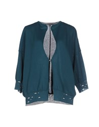 Devotion Knitwear Cardigans Women Deep Jade