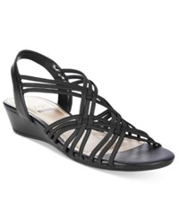 Impo Recent Wedge Sandals Women's Shoes Black