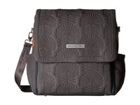 Petunia Pickle Bottom Embossed Boxy Backpack Champs Elysees Stop Backpack Bags Gray