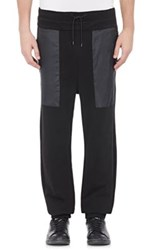 Public School Men's Terry Sweatpants Black