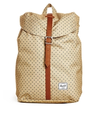 Herschel Supply Co. Post Back Pack In Polka Dot Creamspot