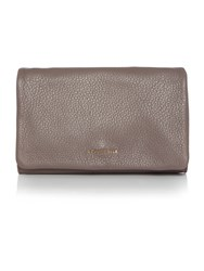 Coccinelle Sibilla Taupe Flapover Clutch Bag Taupe